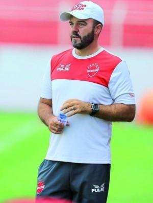 Rogério Mancini, técnico do Vila Nova sub-20 (Foto: Wildes Barbosa/O Popular)
