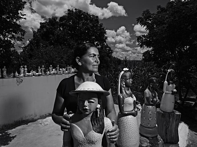 Zezinha, comunidade de Coqueiro Campo (Foto: Maurício Nahas)