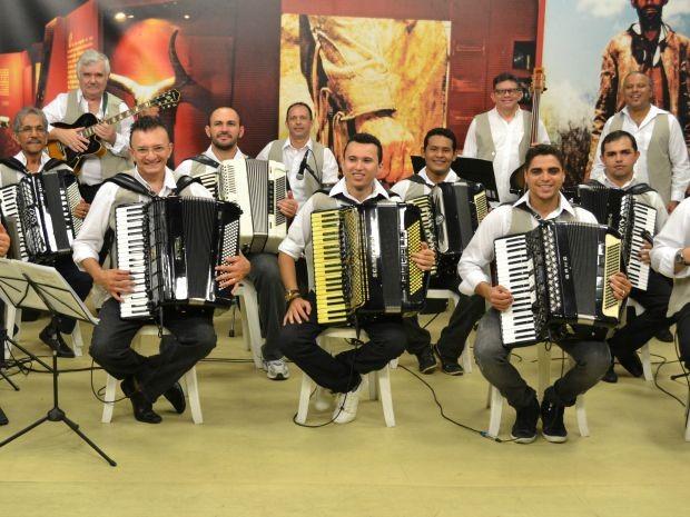 Orquestra de Sanfonas do Ceará (Foto: Divulgação)