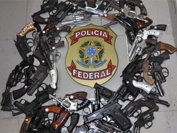 Mais de três mil armas são recolhidas em Pernambuco (Foto: Divulgação/Polícia Federal)
