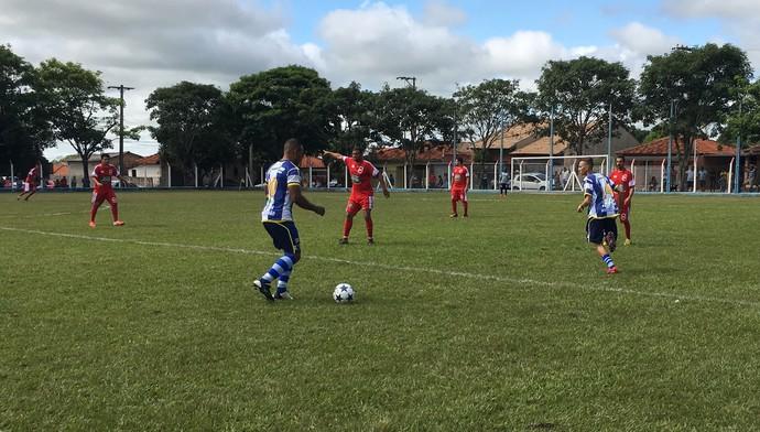 Floresta do Sul x Montalvão, 1ª Copa Interdistritos, Presidente Prudente (Foto: Murilo Rincon / GloboEsporte.com)