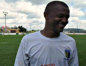 Reinaldo Alagoano diz que jogadores vão dar o melhor na partica contra a Caldense (Foto: Larissa Bernardes / GLOBOESPORTE.COM)