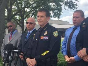 Polícia de Orlando dá entrevista sobre a morte de Christina Grimmie (Foto: Reprodução/Twitter)