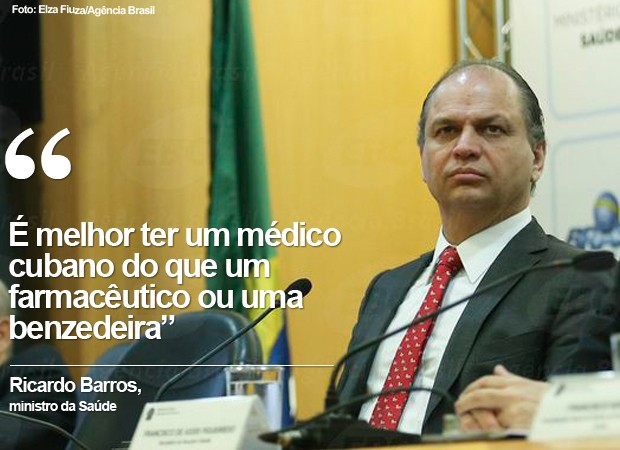 CARD: Ministro da Saúde, Ricardo Barros (2) (Foto: Card/G1)