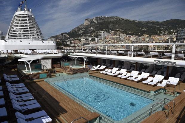 O navio mais luxuoso do mundo (Foto: divulgação)