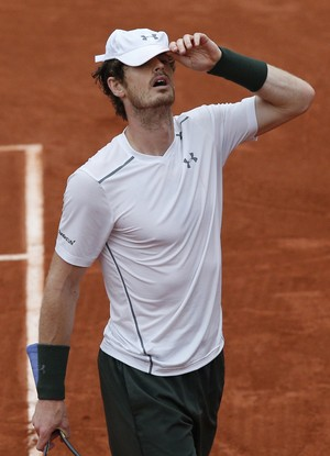 Andy Murray na final de Roland Garros 2016 (Foto: AP)