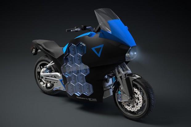Moto elétrica criada pela STORM Eindhoven para a competição (Foto: Divulgação)