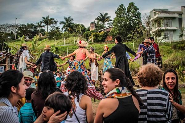 Festa Junina da Associação Beneficente Arcanjo Gabriel (Foto: Thiago Almeida)