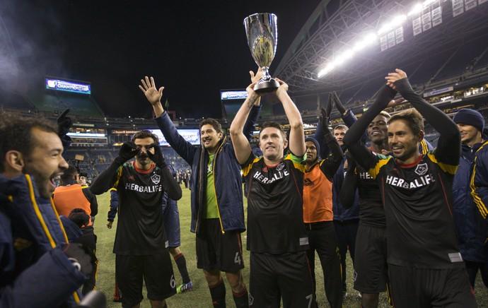 Los Angeles Galaxy vai disputar a nona final da MLS (Foto: Reuters)