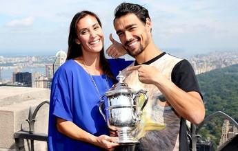Agora ex-tenista, Flavia Pennetta vai ao Rio Open para acompanhar Fognini