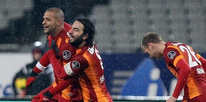 Felipe Melo Galatasaray Besiktas (Foto: Reprodução/Twitter)
