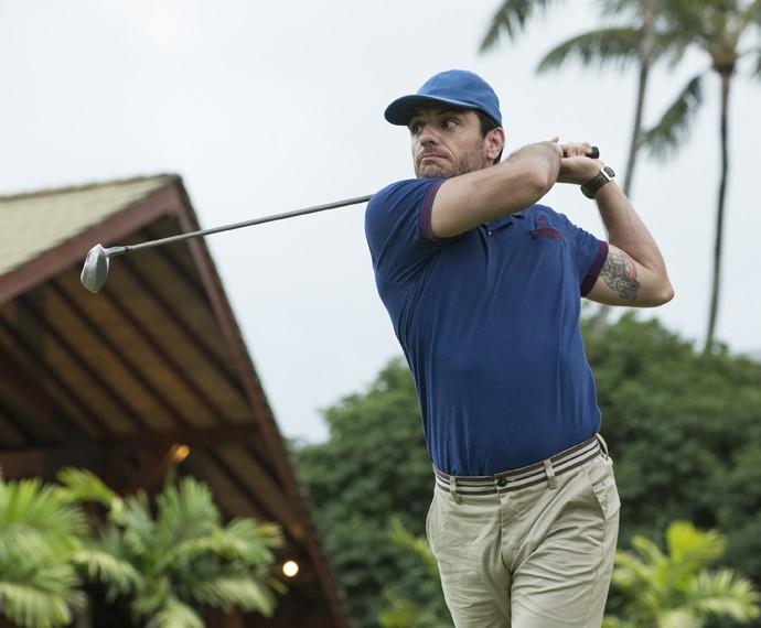 Alex também exibe boa forma para os esportes (Foto: Felipe Monteiro/Gshow)