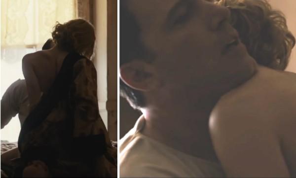 Ben Affleck e Sienna Miller em cena de 'A Lei da Noite' (Foto: Reprodução)