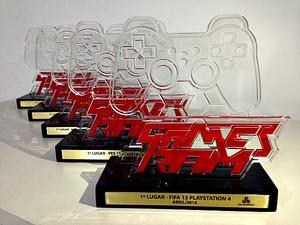 Comeptição terá troféus customizados para os vencedores  (Foto: Divulgação)