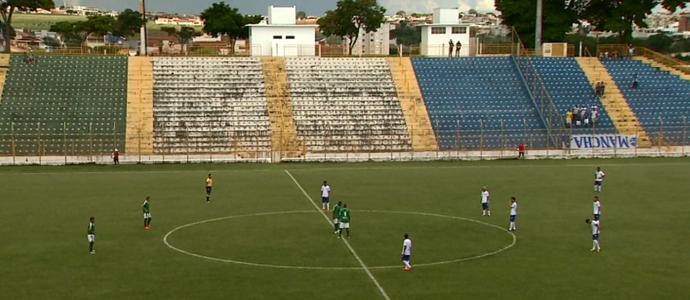 Estádio Lancha Filho, da Francana (Foto: Márcio Meirelles / EPTV)