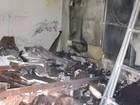 Incêndio atinge loja de roupas na Av. Getúlio Vargas, em Feira de Santana