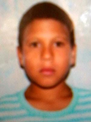 Alamo Mendes, de 13 anos, está desaparecido desde quarta-feira (23) (Foto: Arquivo da família)