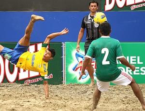 Brasil x México, Beach Soccer (Foto: Lucas Baptista / Futura Press)