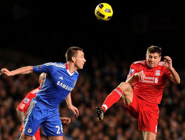 John Terry Chelsea e Steven Gerrard Liverpool  (Foto: Getty Images)