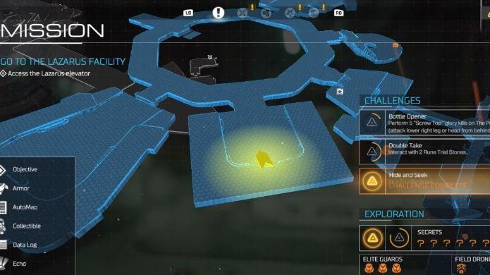 Doom: mapa mostra onde começar a procurar pela BFG (Foto: Reprodução/Thomas Schulze)