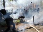 Protesto contra mudança em leis trabalhistas tem confrontos em Paris