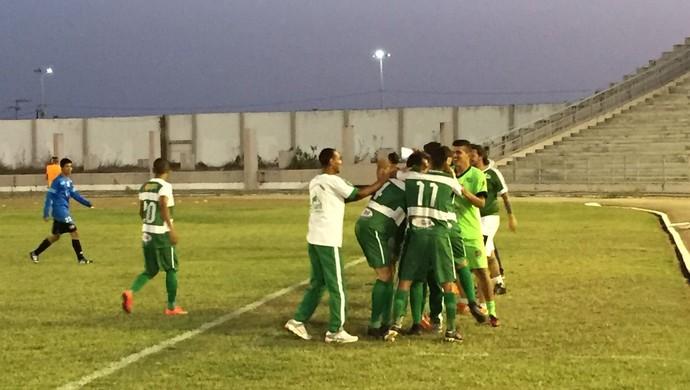 Serrano vence o Femar e garante o acesso para a 1ª divisão do Campeonato Paraibano (Foto: Silas Batista/GloboEsporte.com/pb)