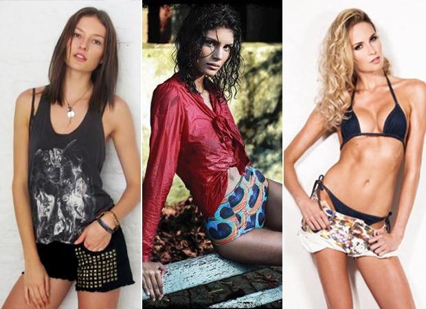 Preparação Modelos - Solange Wilvert,  Carolinne Prates  e Barbara Beluco  (Foto: reprodução / reprodução)