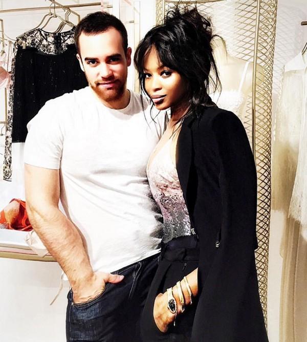 Pedro Lourenço e Naomi Campbell (Foto: Reprodução / Instagram)