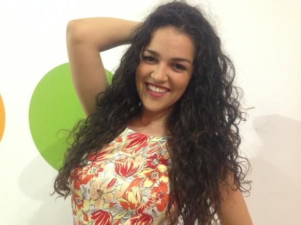 Ingridy diz que cantadas são 'incontáveis' na Marquês de Sapucaí (Foto: Gabriel Barreira/G1)
