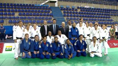 Seleção do Judô participa de treinamento no Centro Panamericano, em Lauro de Freitas