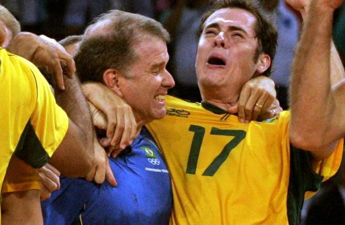 vôlei ricardinho bernardinho brasil  (Foto: Agência Reuters)