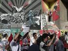 Manifestantes exigem saída de presidente egípcio no Cairo