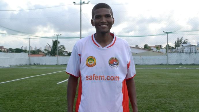 RN - Safern - Patané, meia-atacante (Foto: Jocaff Souza/GloboEsporte.com)