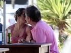 José de Abreu é fotografado com nova mulher: 'Eu caso, não namoro'