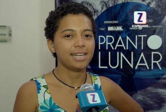 Dheik Praia é a diretora do curta-metragem (Foto: Zappeando)