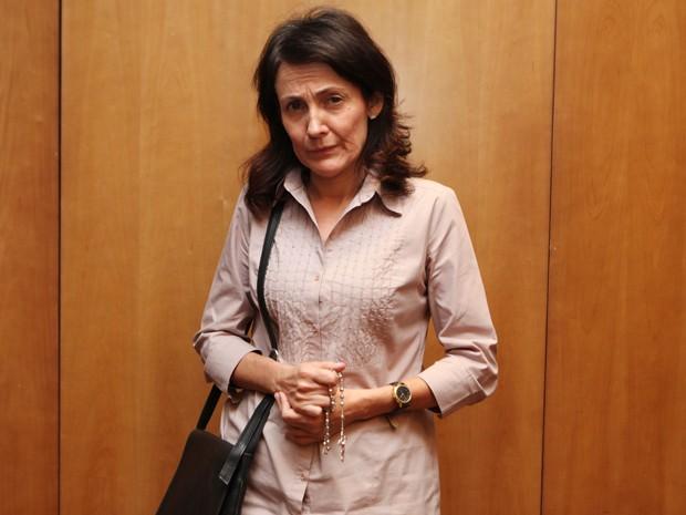 Ela conta que ser mãe na vida real a ajudou a interpretar a personagem (Foto: Carol Caminha/Gshow)