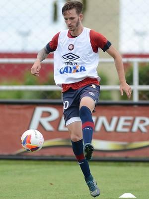 Léo Pereira Atlético-PR CT do Caju (Foto: Site oficial do Atlético-PR/Divulgação)