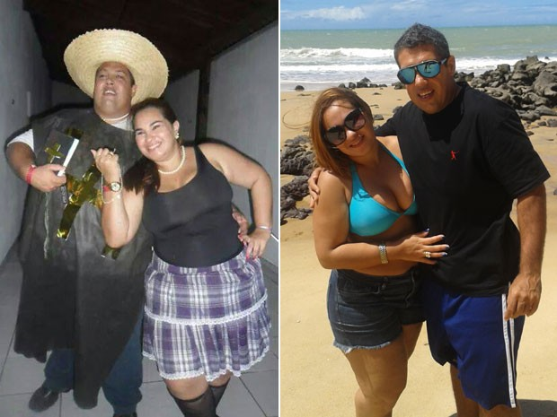 O potiguar Aylo Rafael Dantas Gomes emagreceu 84 kg em um ano (Foto: Arquivo pessoal/Aylo Rafael Gomes)