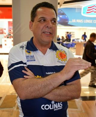 Maurício Iannicelli, supervisor São José Basquete Feminino (Foto: Danilo Sardinha/Globoesporte.com)