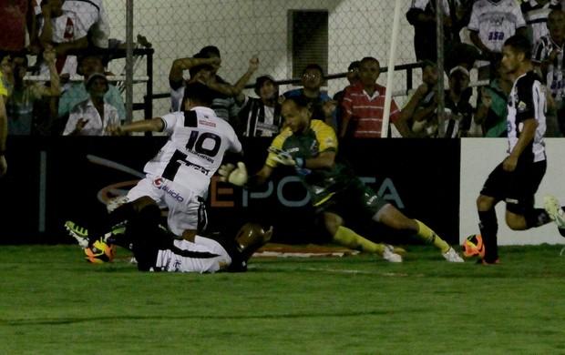 ASA x ABC, em Arapiraca (Foto: José Feitosa/Gazeta de Alagoas)