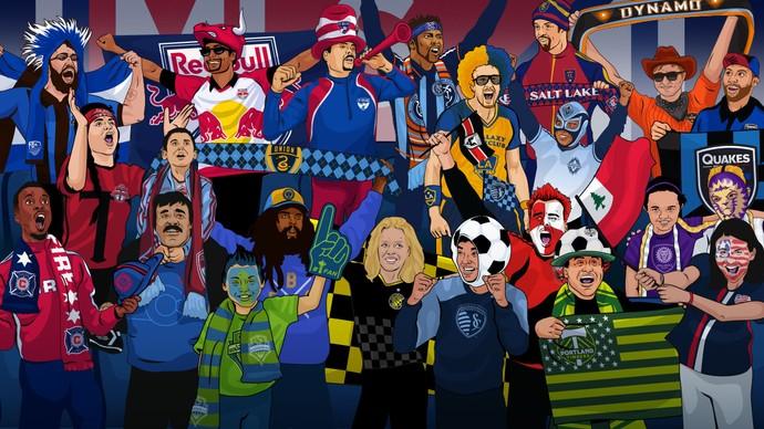 MLS torcidas organizadas (Foto: Reprodução)