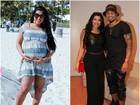 Um mês e meio após dar à luz, Moranguinho emagrece dez quilos