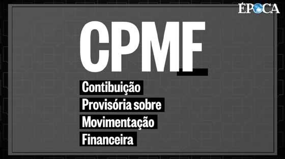 CPMF (Foto: Época/Pedro Schimidt)