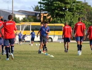 Paraná treino (Foto: Divulgação/ Paraná Clube)
