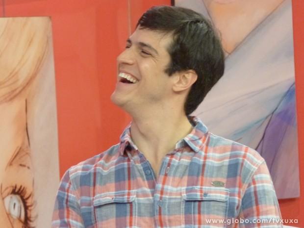 Mateus Solano (Foto: TV Xuxa / TV Globo)