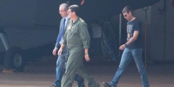 Eduardo Cunha é preso pela PF em Brasília. (Foto: Sergio Lima/ Época)
