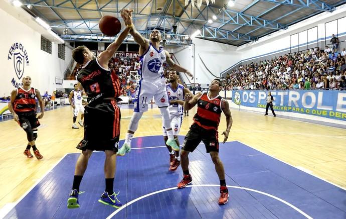jogo basquete Flamengo e Macaé NBB (Foto: Luiz Pires / LNB)