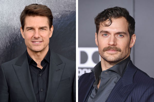 Tom Cruise e Henry Cavill (Foto: Getty Images)
