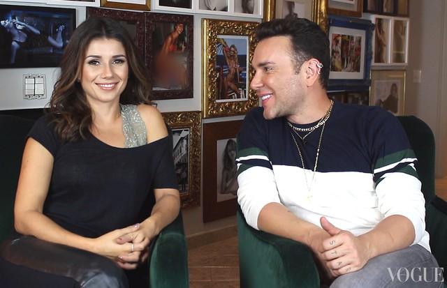 Matheus Mazzafera e Paula Fernandes (Foto: reprodução)
