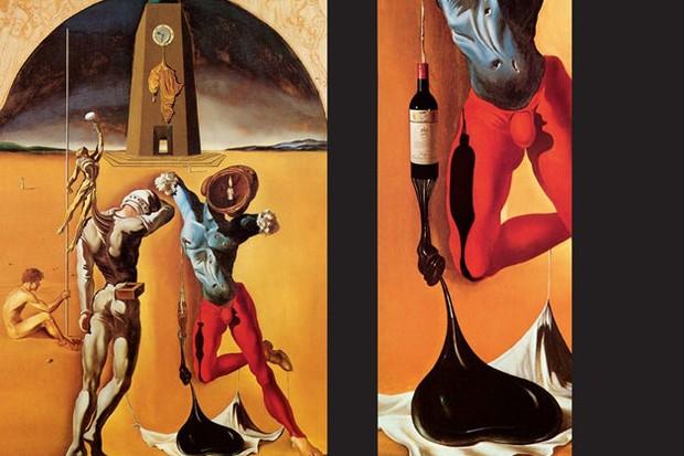 Livro Vins of Gala, de Salvador Dalí (Foto: reproduçao)